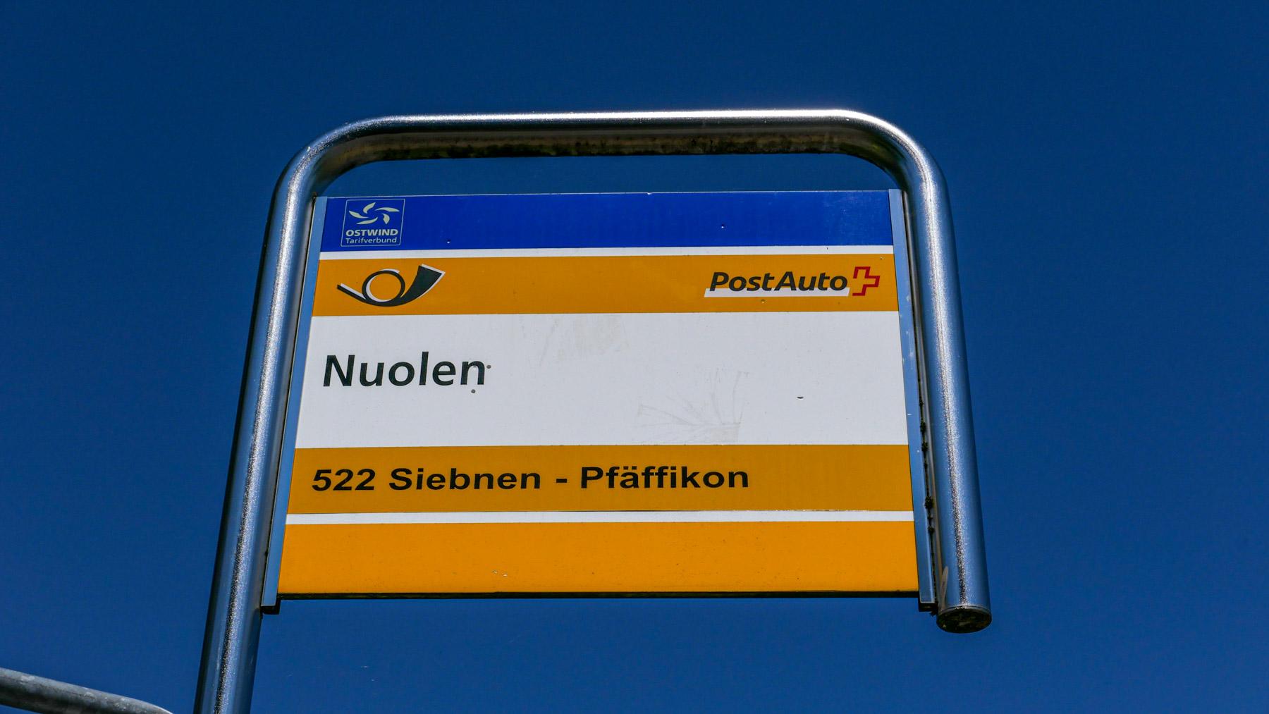 16 Nuolen Busstation