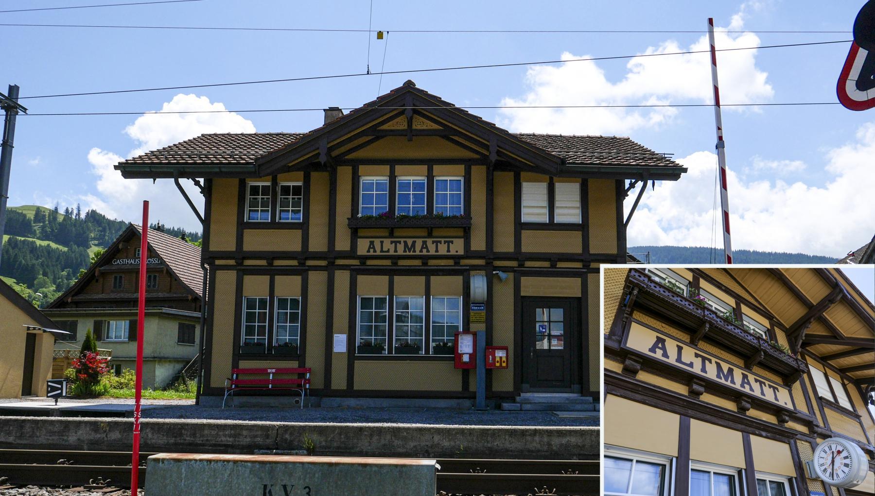 19 Waldmatt Bahnhof