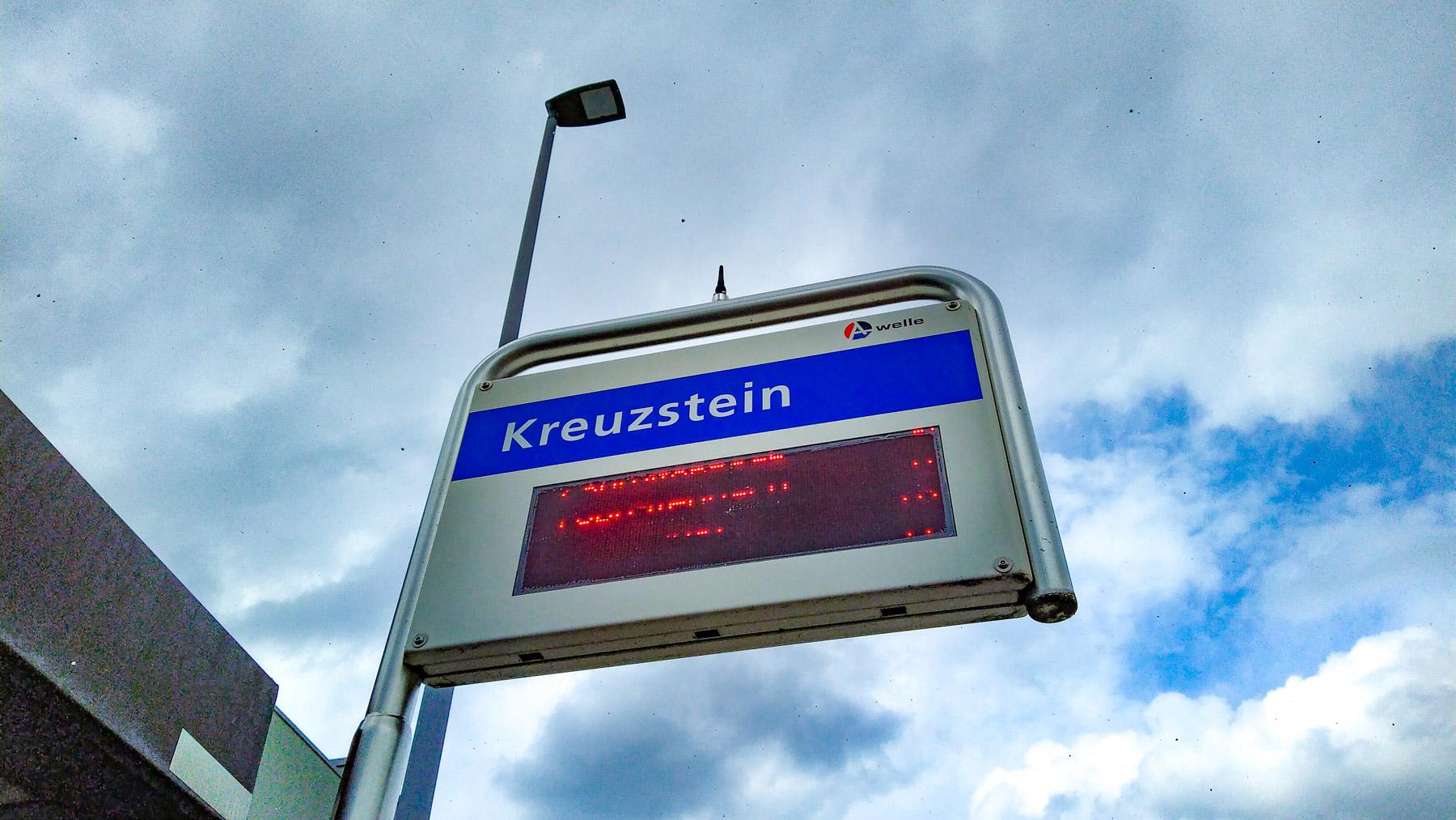 19 Kreuzstein Station