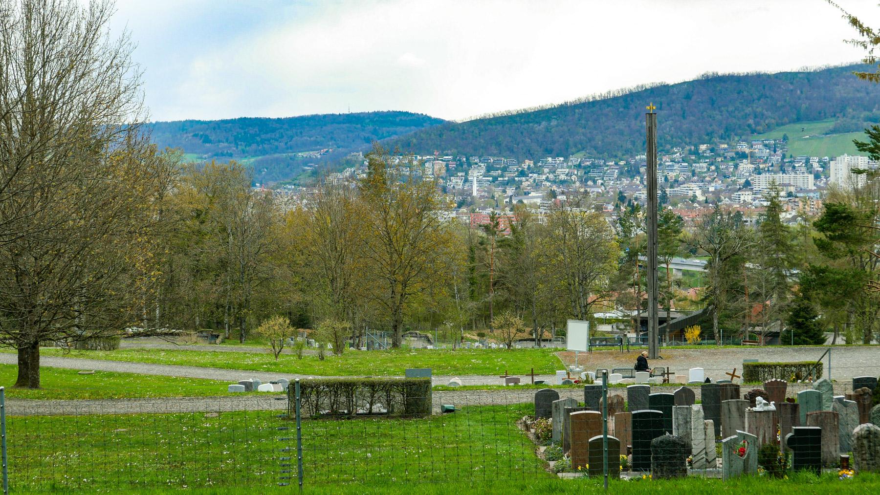 16 Sandrain/Friedhof