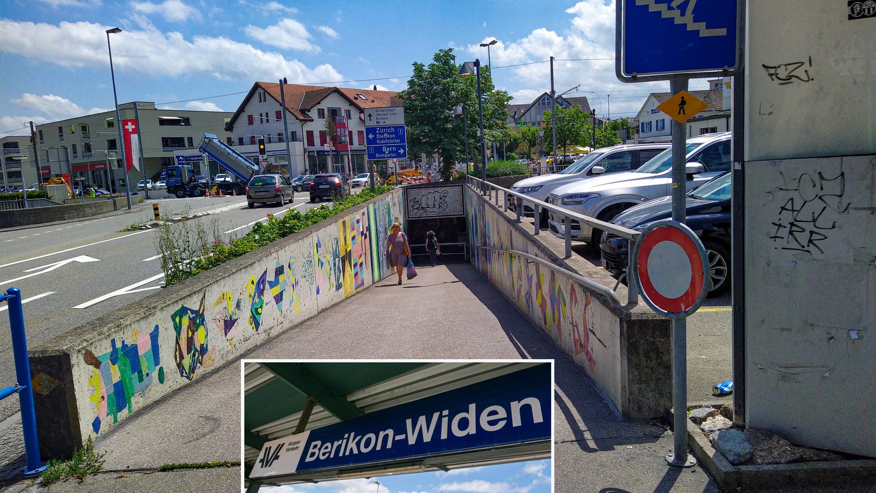 21 Mutschellen Berikon-Widen Bahnhof