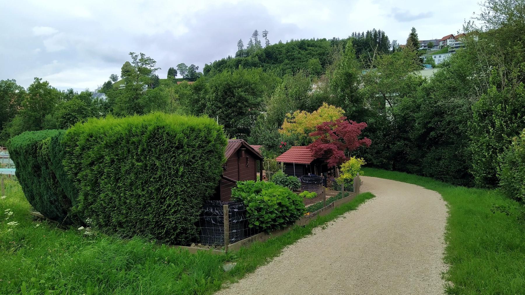 17 Birmensdorf Schrebergärten