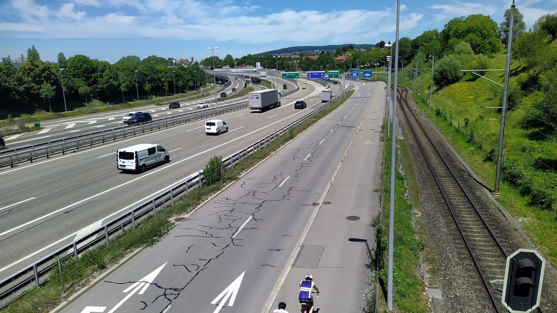 01 A1 bei Brunau