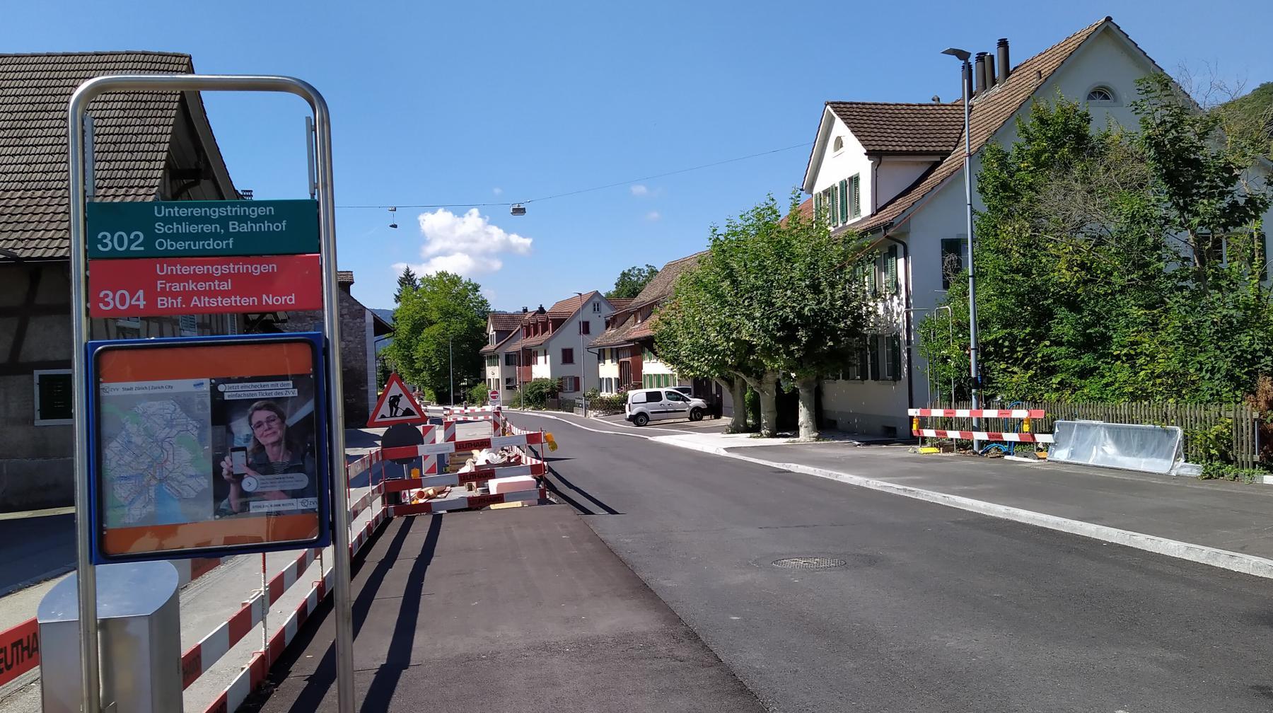 15 Weiningen Busstation