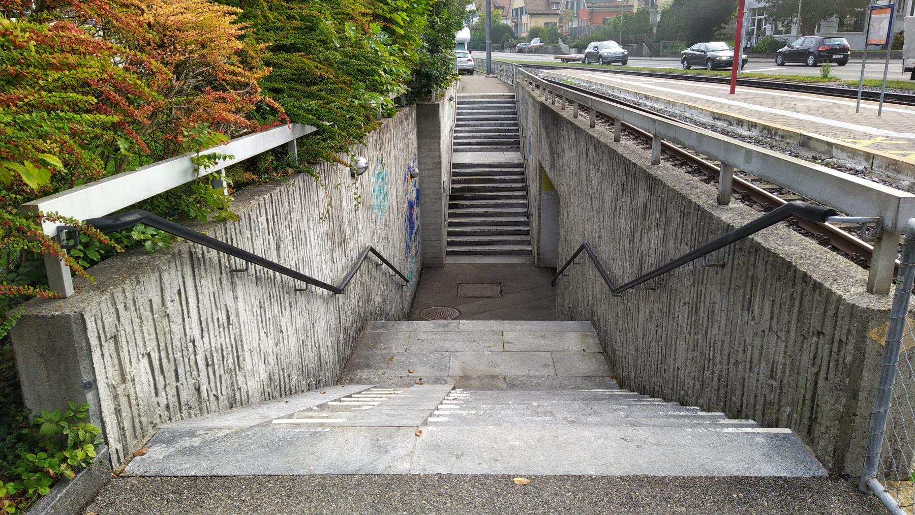 03 Waldburg Forchbahn-Station
