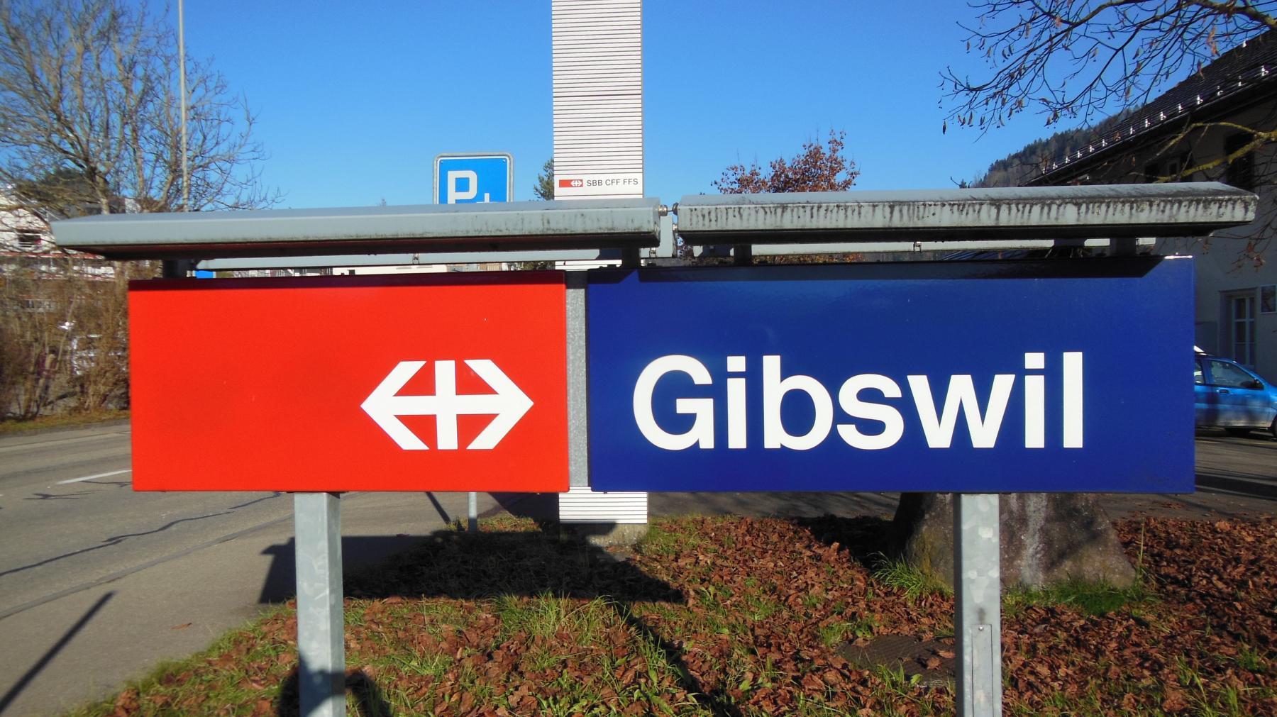 22 Gibswil Bahnhof